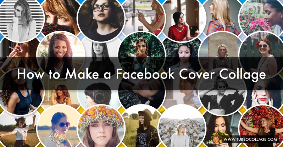 Make Collage Book Cover : How to make a facebook cover collage photo turbocollage