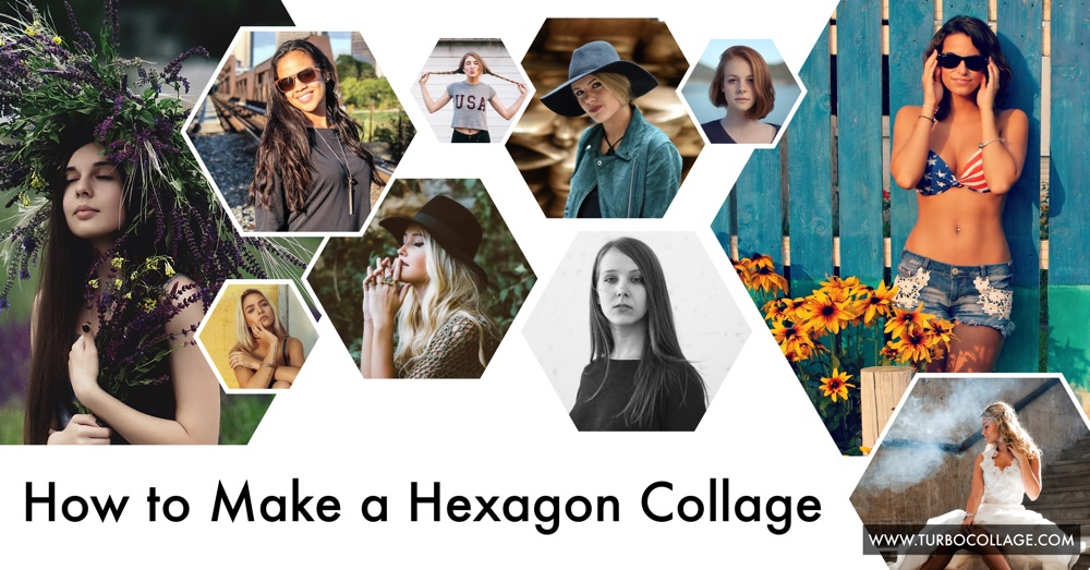 How To Design A Hexagon Collage Turbocollage