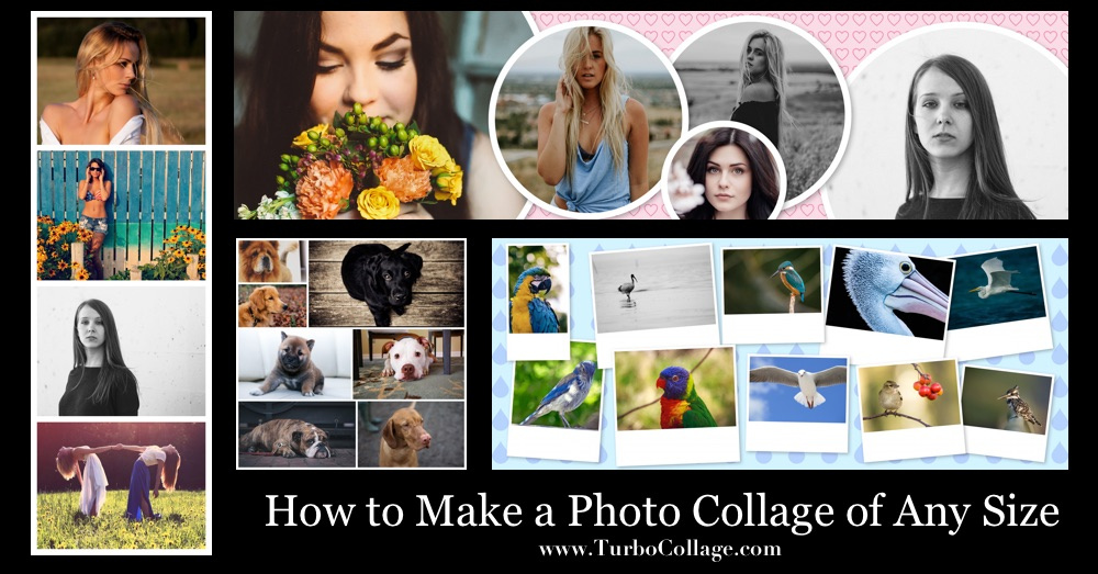 How to make a photo collage of any size turbocollage for Collage foto online gratis italiano