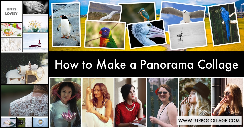 How to Make a Panorama Collage | TurboCollage